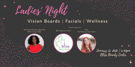 Vision Boards + Mini Facials: Get a vibrant & clear start in 2020 tickets