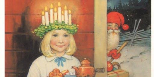 Swedish Traditional Lucia Celebration 15 December 2019