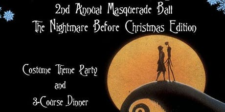 The Nightmare Before Christmas Masquerade Ball tickets
