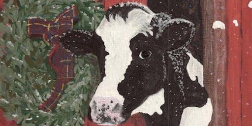 Christmas Cow!!!!