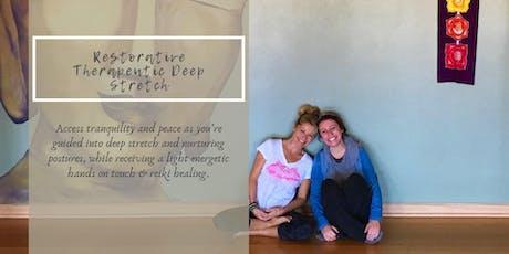 Restorative Yoga & Therapeutic Deep Stretch tickets
