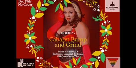 Holiday Cabaret Bump and Grind tickets