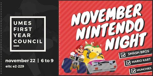 November Nintendo Night