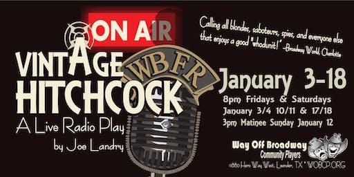 Vintage Hitchcock: A Live Radio Play