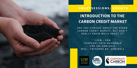 SMARTSessions: Introduction to the Carbon Credit Market – Armidale tickets