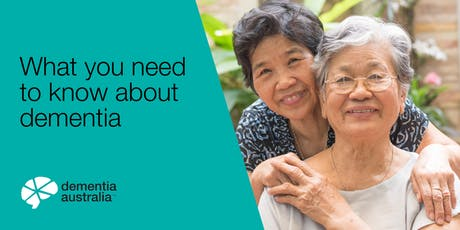 What you need to know about dementia - ROCHEDALE - QLD tickets