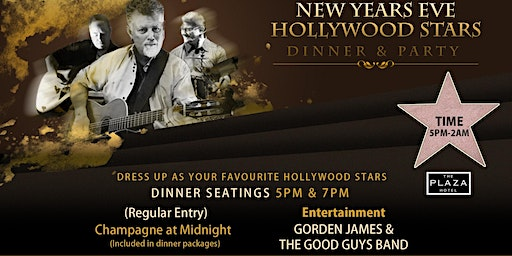 New Years Eve Dinner & Party!! Feat Gorden James & The Good Guys Band