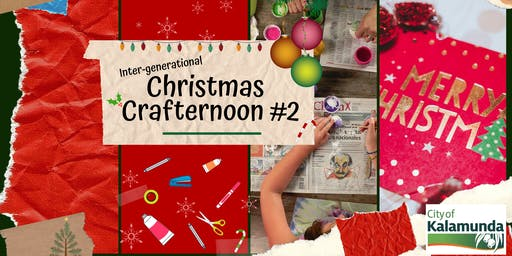 Inter-generational Christmas Crafternoon #2