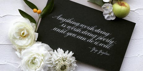 Introduction to Copperplate Script tickets