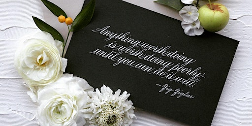 Introduction to Copperplate Script