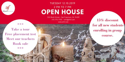Open House at the Alliance Française de San Francisco