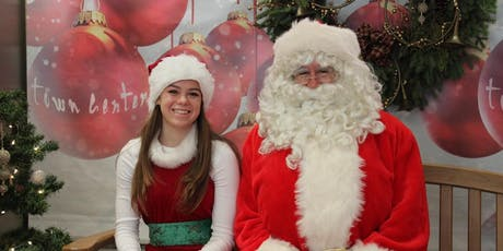 Free Photos with Santa and Gift-Wrapping at Town Center Corte Madera tickets