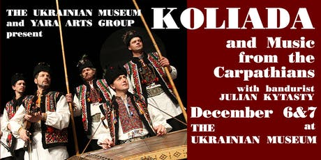 KOLIADA AND MUSIC FROM THE CARPATHIANS tickets