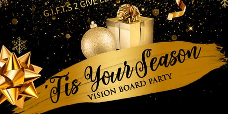 """""""'Tis Your Season"""" Vision Board Party tickets"""