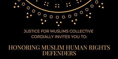 Honoring Muslim Human Rights Defenders:  A Fundraiser Reception tickets