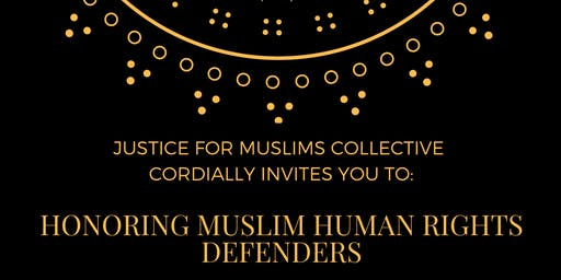 Honoring Muslim Human Rights Defenders:  A Fundraiser Reception