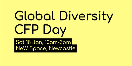 Global Diversity CFP Day (Newcastle) tickets