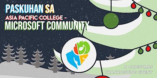 Paskuhan sa Asia Pacific College - Microsoft Community