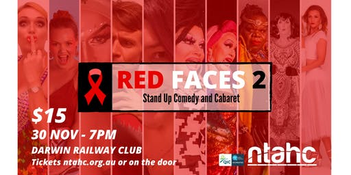 RED Faces 2 - Comedy & Cabaret - World AIDS Day