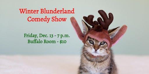 Winter Blunderland Comedy Show