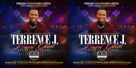 TERRENCE J & FRIENDS HOST OFFICIAL BAYOU CLASSIC WEEKND KICKOFF @ REPUBLIC tickets