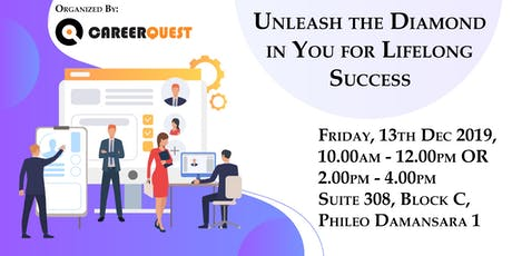 Unleash the Diamond in You for Lifelong Success by CareerQuest tickets