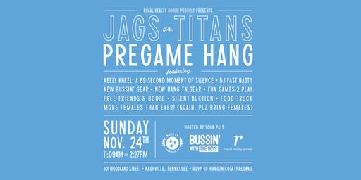 Pregame Hang: Jags vs. Titans