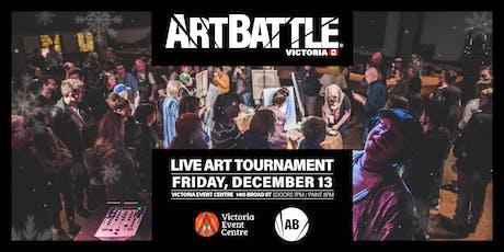 Art Battle Victoria: Holiday Edition - December 13, 2019 tickets