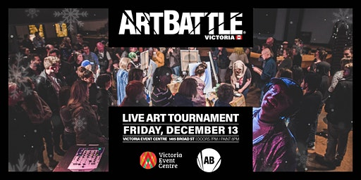 Art Battle Victoria: Holiday Edition - December 13, 2019