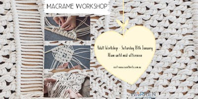 Macrame Workshop - for Adults