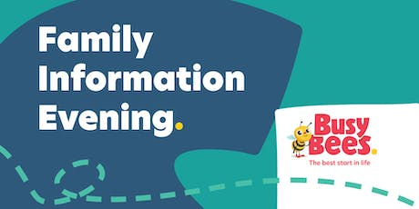 Busy Bees at Cannington - Family Information Evening tickets