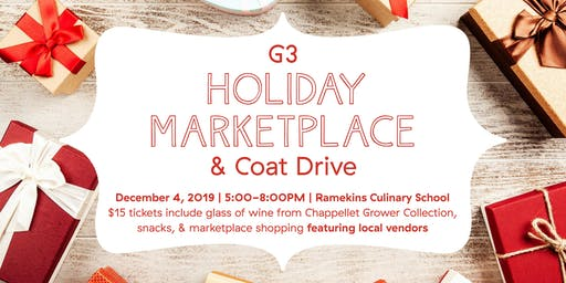 G3 Holiday Marketplace and Coat Drive