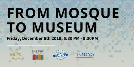 TO - From Mosque to Museum: Contemporary Voices in Muslim Arts tickets