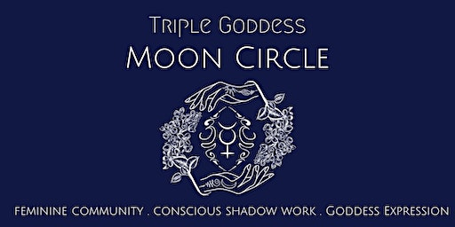 Triple Goddess Moon Circle