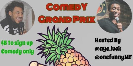 Comedy Ground Prix	||  $100 CASH PRIZE || tickets