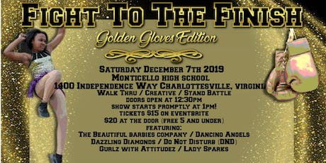 Fight To The Finish - The Golden Gloves Edition tickets