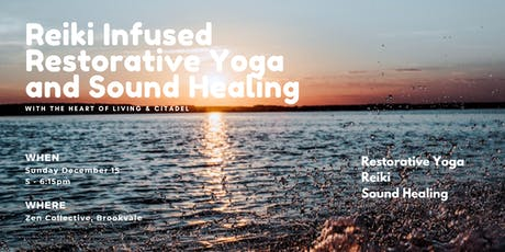 Reiki Infused Restorative Yoga and Sound Healing tickets