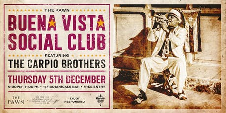 The Pawn BUENA VISTA SOCIAL CLUB tickets