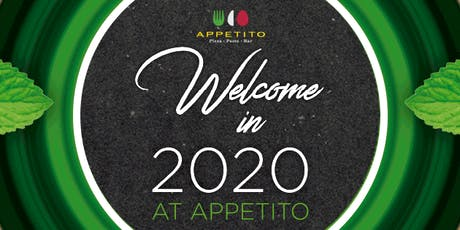 Celebrate New Year's Eve at Appetito tickets