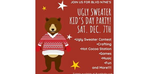 Ugly Sweater Kids Day Party