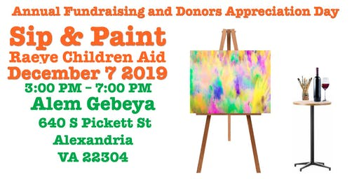 Sip and Paint Donor appreciation Day