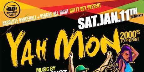 Yah Mon 2000's tickets
