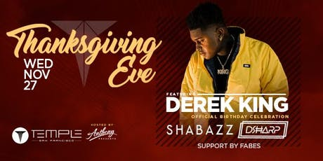 Thanksgiving Eve feat. Derek King tickets