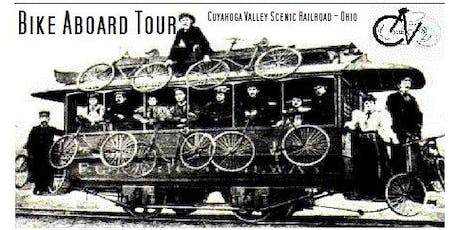Bike Aboard Tour - Cuyahoga Valley Scenic Railroad - Ohio - 27 trail miles tickets