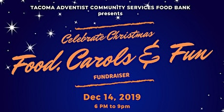 Tacoma Adventist Community Services Christmas Program tickets