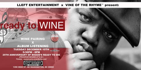 Ready to Wine: A Wine Pairing x Album Listening Experience tickets