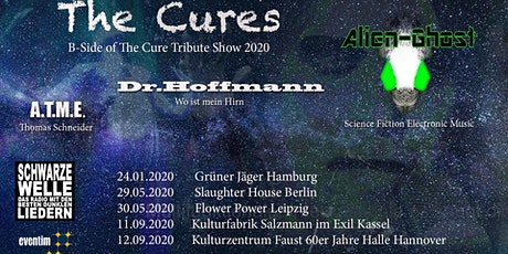 The Cures B-Side of The Cure Tribute Show 2020 Tickets