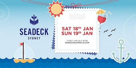 Seadeck Sunset Cruise - Sat 18th  Jan tickets