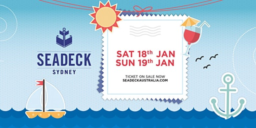 Seadeck Sunset Cruise - Sat 18th  Jan