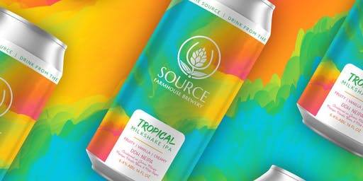 SOURCE Tropical Milkshake IPA RSVP!